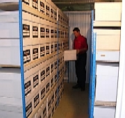 Clean, dry, secure document storage